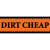 dirt cheap logo